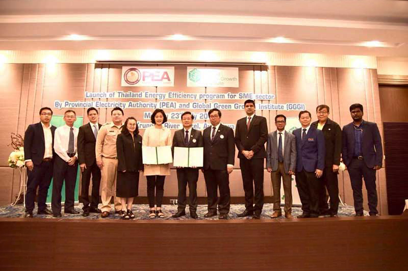 Launch of Thailand Energy Efficiency Program for SME Sector