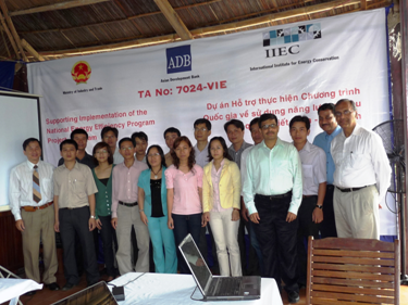 Participants at a Training Program for Manager and Engineers in Da Nang (March'09)