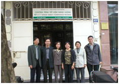 IIEC Finance Specialist with the PECSME PMO Officers and Specialists from the Vietnam Ministry of Finance – in the Development of EE Loan Guarantee Fund for SMEs
