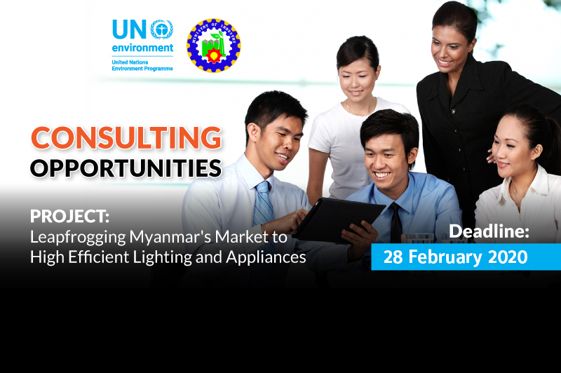 Consulting Opportunities: Leapfrogging Myanmar's Market to High Efficient Lighting and Appliances