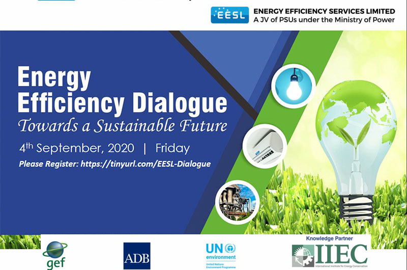Webinar on Energy Efficiency Dialogue -Towards a Sustainable Future, 4 September 2020